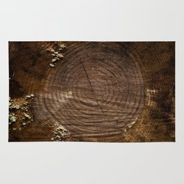 Tree Trunk with Moss Rug