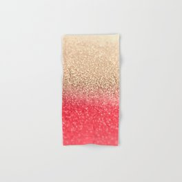 GOLD CORAL Hand & Bath Towel