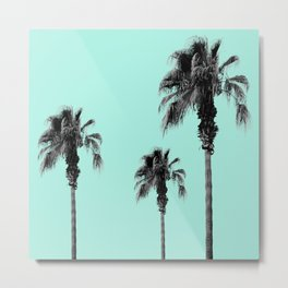 Boho Palm Trees Dream #1 #minimal #tropic #decor #art #society6 Metal Print