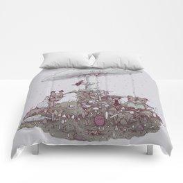 Rain of Spores Comforters