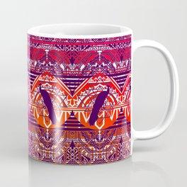 Peacock Patterm Coffee Mug