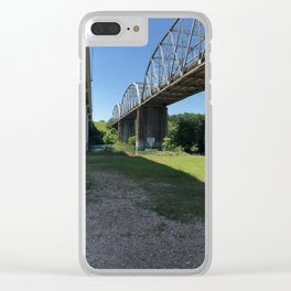 Underpass in Austin, Texas Clear iPhone Case