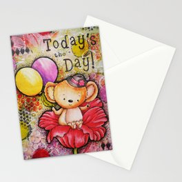 Todays the Day Stationery Cards