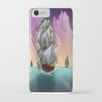 ships iPhone & iPod Cases featuring Rigged Ships by Yoly B. / Faythsrequiem