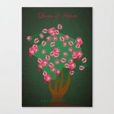 Queen of Hearts | Villains do It Better Canvas Print