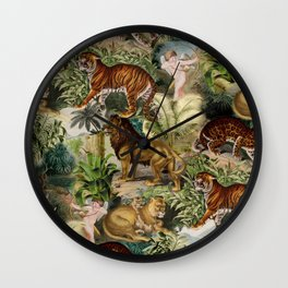 The beauty of the forest Wall Clock