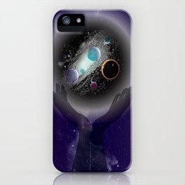 Cradled Space  iPhone Case