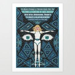 Super Mega Probe Art Print