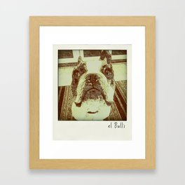 el Bulli Framed Art Print