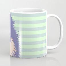 Olie the Pomeranian in Purple Mug