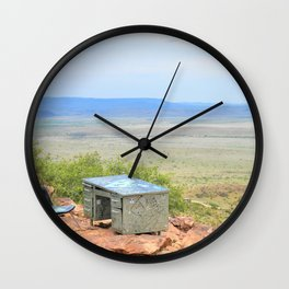 Writing in the Wild Wall Clock