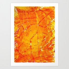 Vegetable Abstract Print Art Print