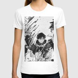 My Hero Academia   Shoto Todoroki   Black White T-shirt