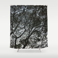 Under the trees II Shower Curtain