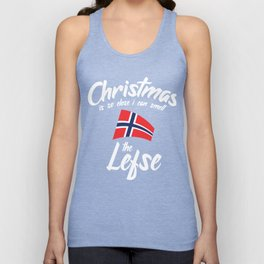 Christmas Is So Close I Can Smell The Lefse Unisex Tank Top
