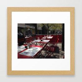 cafe NJ Framed Art Print