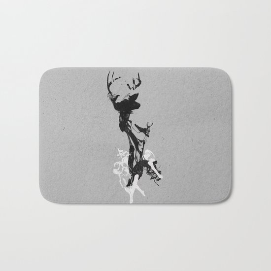 Last time I was a Deer Bath Mat