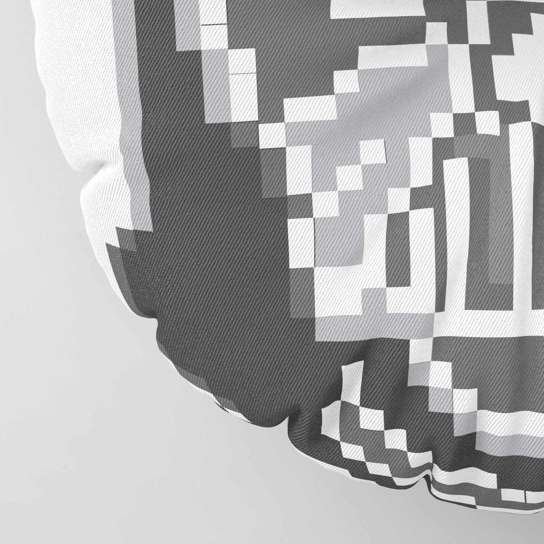Darth Vader Pixel Art Floor Pillow