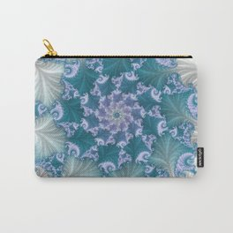 floral abstract background Carry-All Pouch
