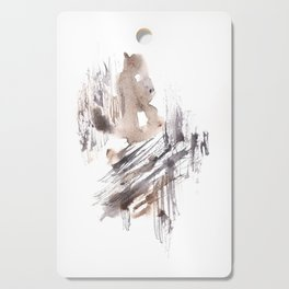 The Fool - 151124  Abstract Watercolour Cutting Board