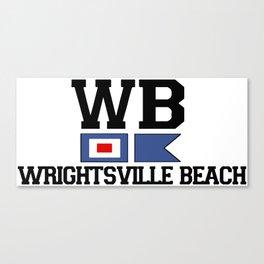 Wrightsville Beach - North Carolina. Canvas Print