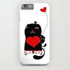 Cats with hearts Slim Case iPhone 6s
