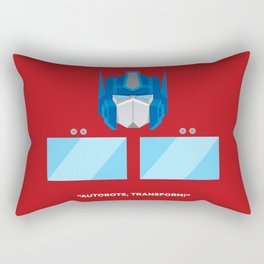 Optimus Prime Rectangular Pillow