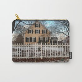 Rhode Island House and Fence and Dinosaurs Carry-All Pouch