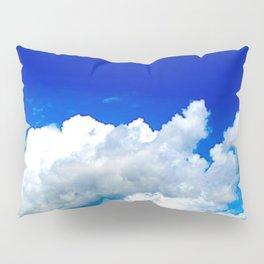 Clouds in a Clear Blue Sky Pillow Sham