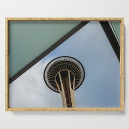 Space Needle Serving Tray