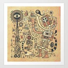 Arbracosmos Art Print