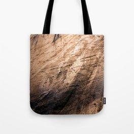 Ice age, copper Tote Bag