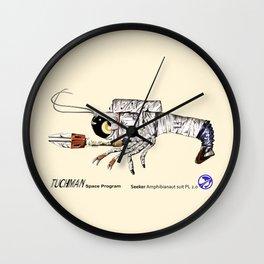 Seeker Amphibianaut suit PL 2.0 Wall Clock
