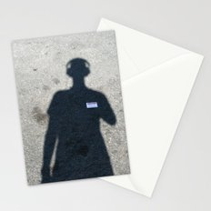 untitled self-portrait Stationery Cards