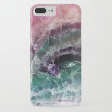 Pink & Green Watermelon Tourmaline Crystal iPhone 7 Plus Slim Case
