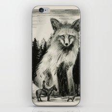 Fox Hunter iPhone & iPod Skin