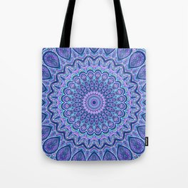 Purple Passion - Mandala Art Tote Bag