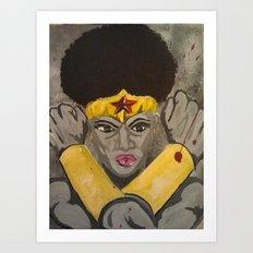 Ebony Wonder Art Print