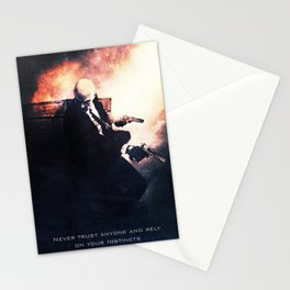 Agent 47 the Hitman Stationery Cards