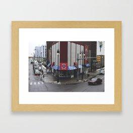 American Coney Framed Art Print