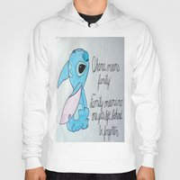 lilo and stitch Hoodies featuring The Best Lilo and Stitch Quote by Tiger100