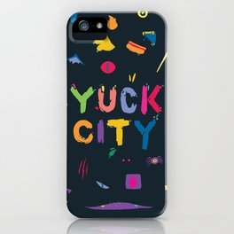 Yuck City iPhone Case