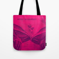 Anatomy of a Kiss. Tote Bag
