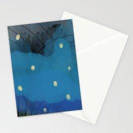 july fireflies Stationery Cards