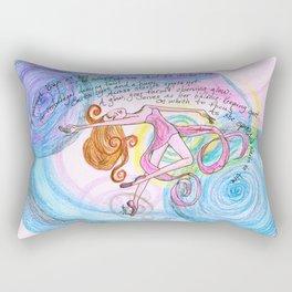 Blitzar Girl Rectangular Pillow