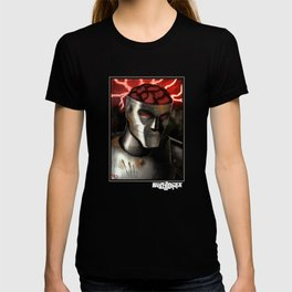 Rusty Joints Portrait T-shirt