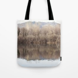 Water lake reflections Tote Bag