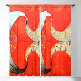 Hilma af Klint Swan IX Blackout Curtain