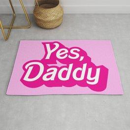 Yes, Daddy Parody DDLG design Rug