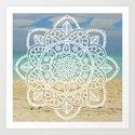 Beach Mandala by julieerindesigns